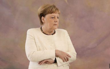 Angela Merkel na sastanku s njemačkim predsjednikom (Foto: AFP) - 4