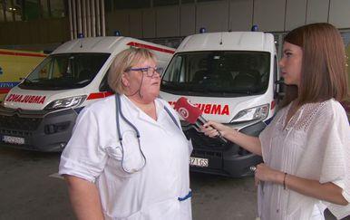 Altijana Kadić, specijalist hitne medicine, i Valentina Baus (Foto: Dnevnik.hr)