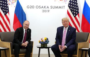 Vladimir Putin i Donald Trump (Foto: Mikhail KLIMENTYEV / SPUTNIK / AFP)