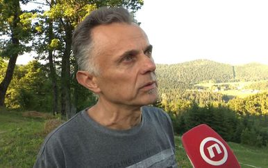 Načelnik općine Mrkopalj Josip Brozović (Foto: Dnevnik.hr)