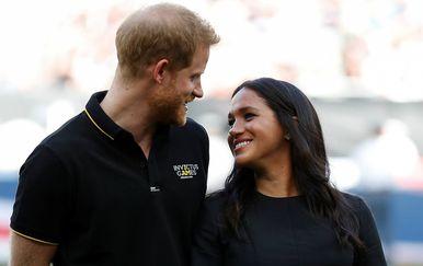 Vojvoda i vojvotkinja od Sussexa uoči utakmice
