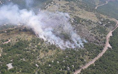 Požar kod Rijeke (Foto: PP NOS OS RH)
