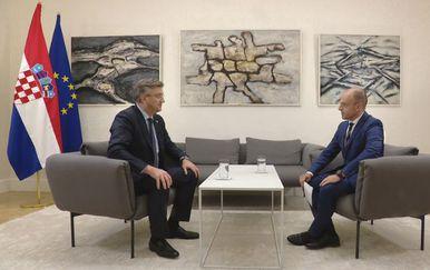 Premijer Andrej Plenković i Mislav Bago