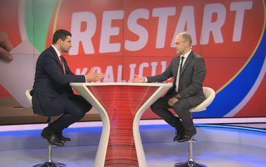 Davor Bernardić, predsjednik SDP-a, i Mislav Bago