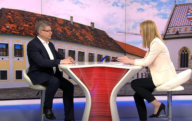 Mirando Mrsić u Dnevniku Nove TV - 6