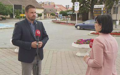 Marin Mandarić, gradonačelnik Đakova, i Marina Bešić Đukarić