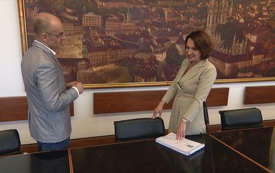 Mislav Bago i Jelena Pavičić Vukičević