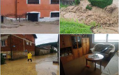 Kiša potopila Požegu i okolicu