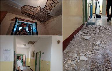 Šteta nakon potresa u Vrpolju