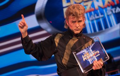 Saša Lozar kao David Bowie tvoje lice zvuči poznato All Stars 2021 - 2