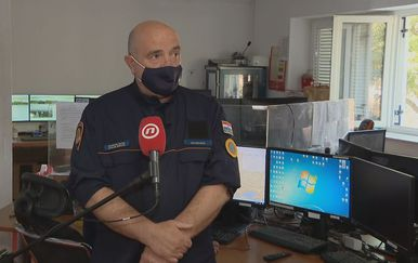 Milovan Kević, voditelj Službe civilne zaštite Šibenik