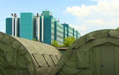 Uskoro uklanjanje šatora ispred KB Dubrava - 2