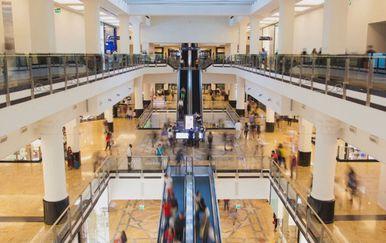 Trgovački centar, ilustracija