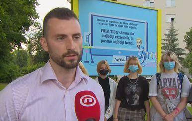 Ante Ševo sa svojim učenicima
