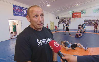 Vinko Kadečka, predsjednik Hrvačkog kluba Petrinja
