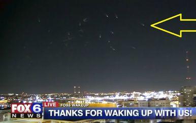 Službeno objašnjenje kaže da su prizor priredili galebovi (FOTO: YouTube/Screenshot)