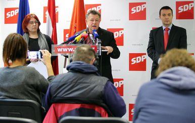 Sjednica Predsjedništva SDP-a (Foto: Jurica Galoic/PIXSELL)