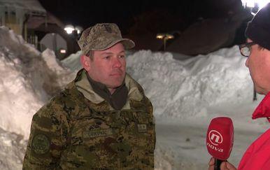 Marko Balen i natporučnik Dražen Lukunić (Foto: Dnevnik.hr) - 1