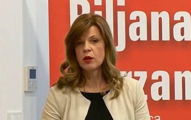 Konferencija za medije Biljane Borzan (Foto: dnevnik.hr)