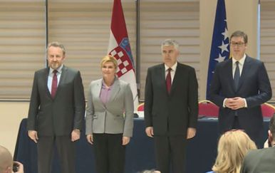 Sastanak trilaterale u Mostaru (Screenshot)
