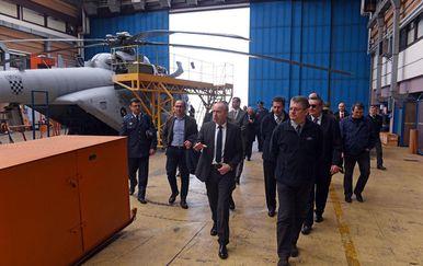 Ministar obišao ZTC (Foto: MORH/ M. Čobanović)