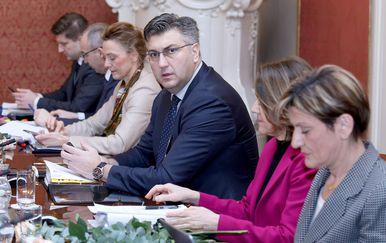 Premijer Andrej Plenković i ministri (Foto: Pixell)