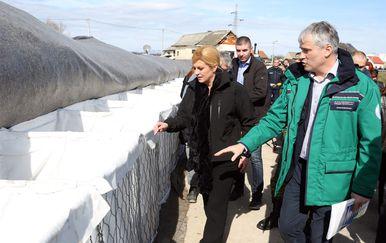 Kolinda Grabar-Kitarović posjetila je Karlovac (Foto: Kristina Stedul Fabac/PIXSELL)
