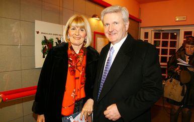 Ivica Todorić sa suprugom Vesnom (Foto: Goran Jakus/PIXSELL)