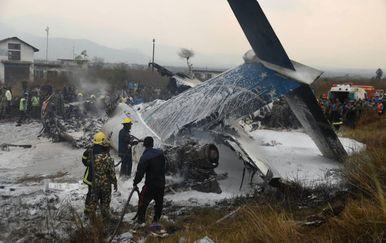 Zrakoplovna nesreća u Nepalu (Foto: Dipendra Rokka/My Republica)