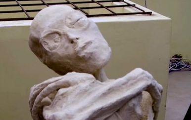 Izvanzemaljska mumija s tri prsta ima isti broj kromosoma kao ljudi, ali ne i anatomiju (Screenshot YouTube)