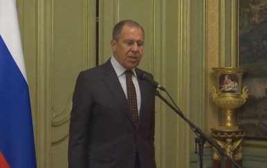 Sergej Lavrov (Screenshot: AP)