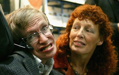 Elaine Mason, Stephen Hawking (Foto: Getty Images)