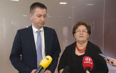 Fabris Peruško i Marica Vidaković (Foto: Dnevnik.hr)