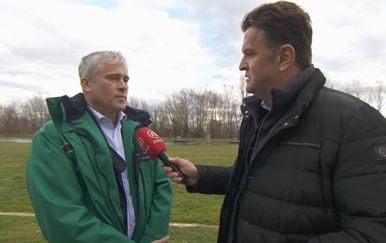 Zoran Đuroković, direktor Hrvatskih voda, i Andrija Jarak (Foto: Dnevnik.hr)