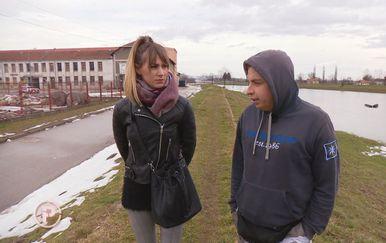 Mateo Sadlek i Kristina Čorak (Foto: Dnevnik.hr)