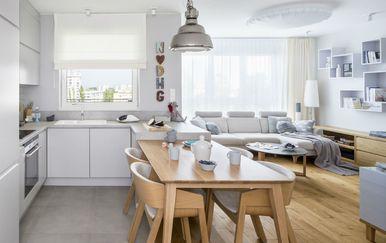 Fotografije domova u kojima su kuhinja i dnevni boravak spojeni - 3