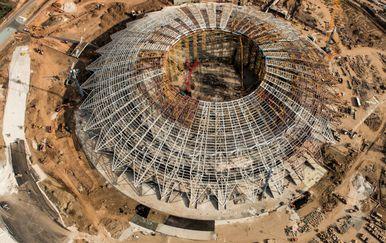 Stadion u Samari za SP (Foto: AFP)