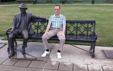 Rob Pope je prvi čovjek koji je zaista pretrčao fiktivnu rutu Forresta Gumpa diljem SAD-a (Foto: Profimedia)