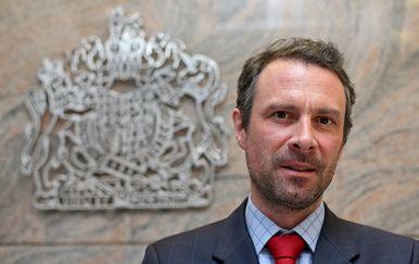 Andrew Stuart Dalgleish, veleposlanik Ujedinjenog Kraljevstva Velike Britanije i Sjeverne Irske u Republici Hrvatskoj (Foto: Igor Kralj/PIXSELL)