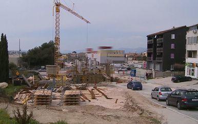 Problemi zbog radova na ulazu u Solin (Foto: Dnevnik.hr) - 1