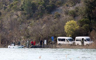 Potraga na Visovačkom jezeru (Foto: Pixell)