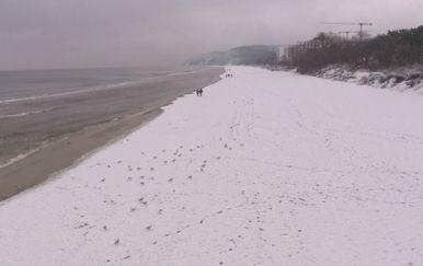 Poljaci će Uskrs slaviti uz snijeg (Foto: Dnevnik.hr)