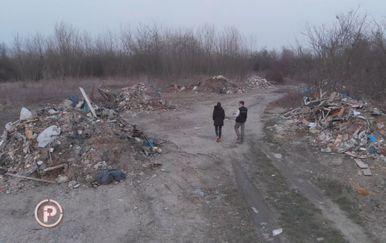Na gradskom zemljištu u zagrebačkom naselju Savica niknulo je ilegalno odlagalište otpada (Foto: Dnevnik.hr) - 5