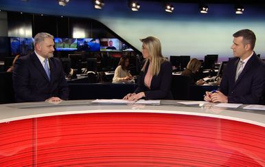 Čelnik Hrvatske udruge poslodavaca, Davor Majetić gost Dnevnika Nove TV(Video: Dnevnik Nove TV) - 1