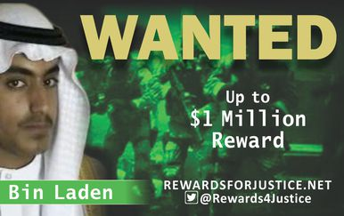 Hamza bin Laden (Foto: @Rewards4Justice/Twitter)