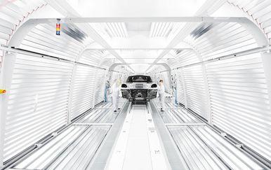 Proizvodnja Porschea Macan