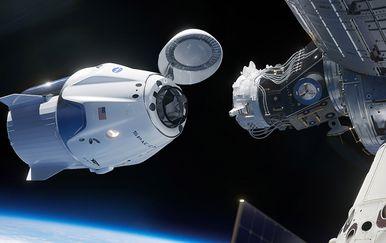 Spajanje Crew Dragon i ISS-a