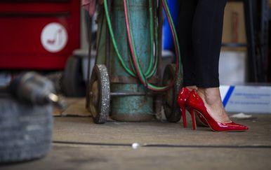 Vlasnica automehaničarske radionice na radnom mjestu, ilustracija (Foto: AFP)