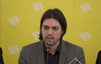 Predsjednik Živog zida Vilibor Sinčić (Foto: Dnevnik.hr)