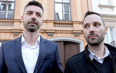 Igor Šegota i Mladen Kožić (Foto: Arhiva/Patrik Macek/PIXSELL)
